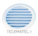REJILLA PLASTICO REDONDA CON RED DIAMETRO 12cm con referencia 3500N de la marca HYDRAFIX.