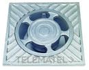 SUMIDERO ALUMINIO 15x15x6,2cm con referencia 610015 de la marca HYDRAFIX.