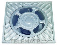 SUMIDERO ALUMINIO 20x20x6,5cm con referencia 610020 de la marca HYDRAFIX.