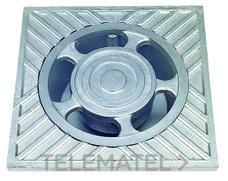 SUMIDERO ALUMINIO 30x30x6,5cm con referencia 610030 de la marca HYDRAFIX.