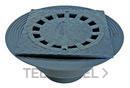 SUMIDERO CON CAZOLETA 200x200 DIAMETRO 90/110 PVC con referencia 3620020110 de la marca HYDRAFIX.