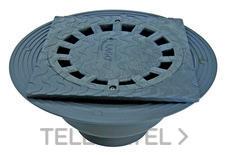 SUMIDERO CON CAZOLETA 250x250 DIAMETRO 90/110 PVC con referencia 3620025110 de la marca HYDRAFIX.