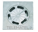 SUMIDERO ECONOMICO 40X40x6,5cm ALUMINIO con referencia 610140 de la marca HYDRAFIX.