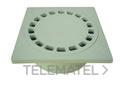 SUMIDERO SALIDA VERTICAL 15x15 DIAMETRO 40mm POLIPROPILENO GRIS con referencia 3610015 de la marca HYDRAFIX.