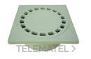 SUMIDERO SALIDA VERTICAL 20x20 DIAMETRO 70/80mm POLIPROPILENO GRIS con referencia 3610020 de la marca HYDRAFIX.