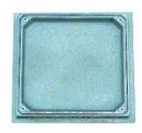 TAPA ALUMINIO ESTANCA RELLENABLE 30x30cm con referencia 6140BR30 de la marca HYDRAFIX.