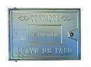 TAPA ALUMINIO TOMA CAÑO C 30x40x2,5cm con referencia 612040 de la marca HYDRAFIX.