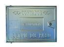 TAPA ALUMINIO TOMA CAÑO C 30x50x2,5cm con referencia 612050 de la marca HYDRAFIX.