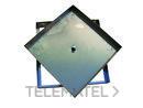TAPA RELLENABLE 33x33x4,5cm INOXIDABLE AISI304 con referencia 375003333I de la marca HYDRAFIX.