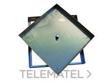 TAPA RELLENABLE 43x43x4,5cm INOXIDABLE AISI304 con referencia 375004343I de la marca HYDRAFIX.