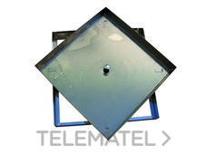 TAPA RELLENABLE 43x43x5cm GALVANIZADA con referencia 375004343 de la marca HYDRAFIX.