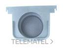 TAPA SALIDA/FINAL ECOCANAL 100 DIAMETRO 75 GRIS con referencia 36513TG de la marca HYDRAFIX.