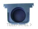 TAPA SALIDA/FINAL ECOCANAL 100 DIAMETRO 75 NEGRO con referencia 36513TN de la marca HYDRAFIX.