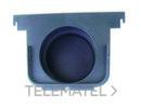 TAPA SALIDA/FINAL ECOCANAL 200 DIAMETRO 75 NEGRO con referencia 36520TN de la marca HYDRAFIX.