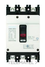 Interruptor automático caja moldeada HGM160 TREG 100A 3 polos 38kA con referencia HGM160-H3P100F de la marca HYUNDAI.