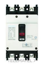 Interruptor automático caja moldeada HGM160 TREG 100A 4 polos 38kA con referencia HGM160-H4P100F de la marca HYUNDAI.