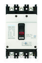 Interruptor automático caja moldeada HGM160 TREG 150A 4 polos 38kA con referencia HGM160-H4P150F de la marca HYUNDAI.