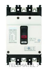 Interruptor automático caja moldeada HGM160 TREG 150A 4 polos 55kA con referencia HGM160-L4P150F de la marca HYUNDAI.