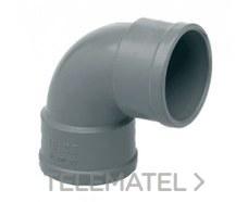IBIDE CHH-03A Codo 87° 30' H-H diámetro 32mm gris