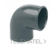 IBIDE 00102 Codo 90° H-H encolar diámetro 20mm