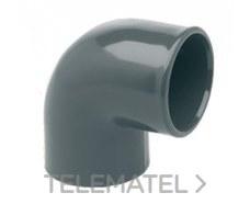 IBIDE 00103 Codo 90° H-H encolar diámetro 25mm