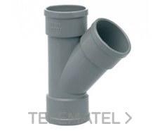 IBIDE DS-04 Derivación 45° H-H diámetro 40mm