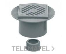 IBIDE CSV-55 Sumidero sifónico extensible rejilla PVC 40/50-105x105