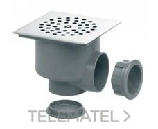 IBIDE SSV-12 Sumidero sifónico rejilla inoxidable diámetro 40/50-125x125mm