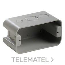 """Caja mecanismo / derivación IP20 4x2"""" sin tapa con referencia 45080 de la marca IDE."""