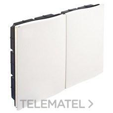 Caja plástica empotrar 2x500x300x80 con referencia RTR50608PLAS de la marca IDE.