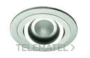Aro empotrable Look R aluminio con referencia 22-069-02 de la marca ILUTREK.
