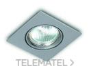 Aro empotrable Mali gris con referencia 22-020-16 de la marca ILUTREK.
