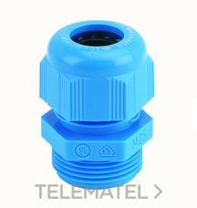 PRENSAESTOPAS CAP-TOP EEX-I M25 12-18 POLIAMIDA AZUL con referencia 072626 de la marca INTERFLEX.