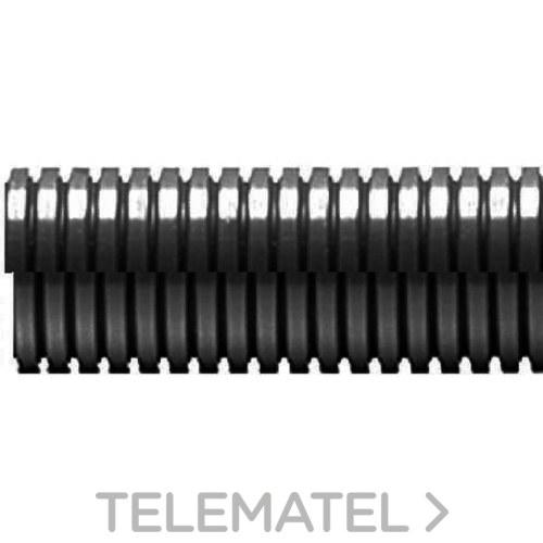 TUBO ANILLADO ABIERTO ECT DN23 POLIAMIDA NEGRO 50m con referencia ECT-23N/C de la marca INTERFLEX.