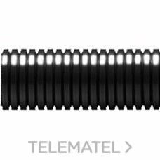 TUBO ANILLADO DN07 50m POLIAMIDA NEGRO con referencia STT-07N de la marca INTERFLEX.