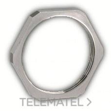 TUERCA DIN46319 M32x1,5mm LATON NIQUELADO con referencia 313205 de la marca INTERFLEX.