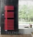 Radiador JAZZ Eléctrico EcoDesign con control termostático Wireless 1290x500mm blanco con referencia JLM050ED01 de la marca IRSAP.