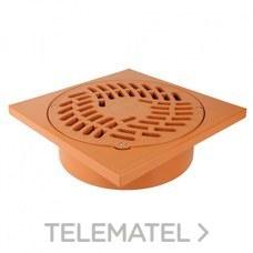 TERMINAL REJILLA S316 315x400 TEJA con referencia 27021 de la marca JIMTEN.