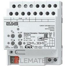 JUNG 3901REGHE Actuador dimmer regulador velocidad KNX 1 canal