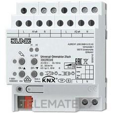 JUNG 3902REGHE Actuador dimmer regulador velocidad KNX 2 canales
