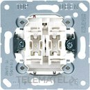 MECANISMO DOBLE INTERRUPTOR 10AX/250V con referencia 505U de la marca JUNG.