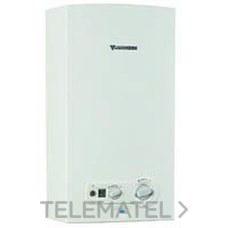 CALENTADOR INTERIOR WR11-2B GAS NATURAL 11l/m CLASE DE EFICIENCIA ENERGETICA A\\M con referencia 7701331015 de la marca JUNKERS.