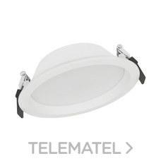 Downlight DL ALU DN200 25W/4000K WT IP44 2370lm 50000h con referencia 4058075091511 de la marca LEDVANCE.