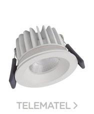 Luminaria Spot FP LED FIX 8W/4000K regulable IP65 WT 670lm 30000h blanco 3 años garantía (regulable corte de fase) con referencia 4058075127555 de la marca LEDVANCE.