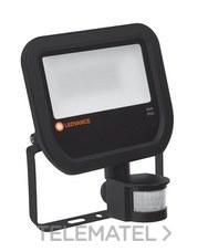 Proyector Floodlight led 50W/4000K negro IP65 sensor 4750 Lum 30000 h 3 años garantía con referencia 4058075143593 de la marca LEDVANCE.