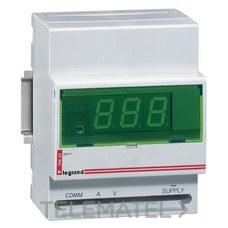 Amperímetro voltímetro digital módulo con referencia 004663 de la marca LEGRAND.