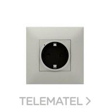 Base VALENA NEXT W/NETATMO 2P+T aluminio con referencia 741841 de la marca LEGRAND.