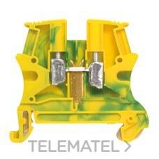 BORNA VIKING3 TIERRA 10mm2 PASO-10 VERDE/ AMARILLO con referencia 037173 de la marca LEGRAND.