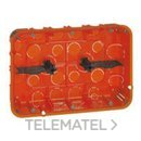 CAJA EMPOTRAR MOSAIC-II 2x6-8 MODULO con referencia 080126 de la marca LEGRAND.