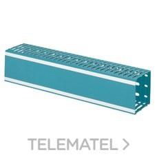 Canal LINA 25 PVC azul 25x25 con referencia 036200 de la marca LEGRAND.